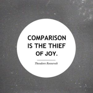 Comparison is the Thief of Joy (Stop Crazy Thoughts)
